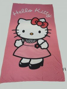 Copriletto Trapuntato Hello Kitty.Telo Mare Hello Kitty Sanrio Sanrio Mare Tendeamilano It